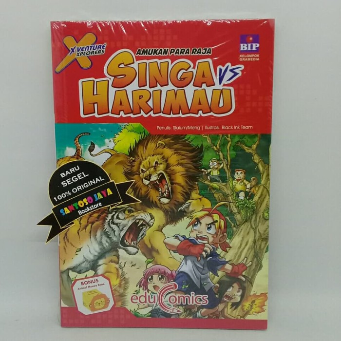 Jual Educomics X-Venture Xplorers : Amukan Para Raja Singa VS Harimau -  Kab  Kudus - Santoso Jaya Bookstore | Tokopedia