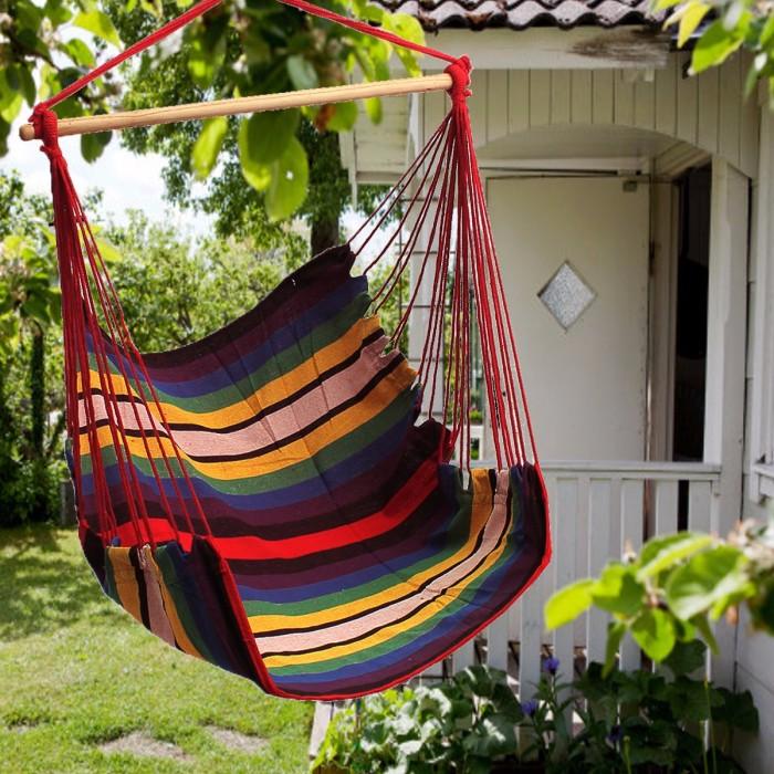 Jual Taman Garden Patio Hanging Thicken Hammock Chair Indoor Outdoor Jakarta Barat Mw Hardware Tokopedia