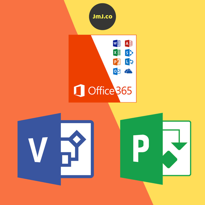 Jual Microsoft Office 365 + Visio + Project - DKI Jakarta - Lapak JMJ |  Tokopedia