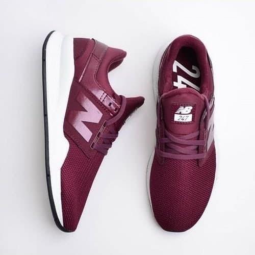 pick up b78bb 7c4e5 Jual New Balance Lifestyle 247 Revlite Burgundy WS247UA - Kab. Serang -  nebula shoes   Tokopedia