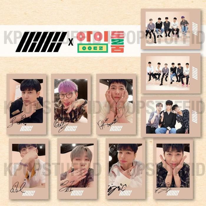 Jual Terhot Ready C005 Polaroid Kpop Ikon X Idol Room ( Ttd All Member) -  Kab  Tangerang - intan a   Tokopedia