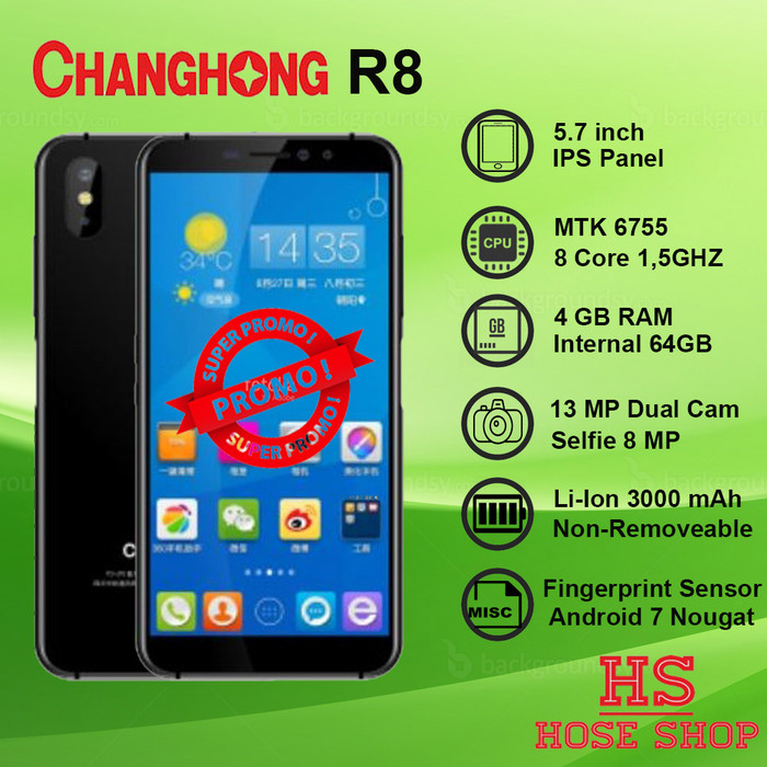 Jual Smartphone Changhong R8 - 4GB Ram 64 GB Internal - Garansi - Jakarta  Pusat - Hose Shop   Tokopedia