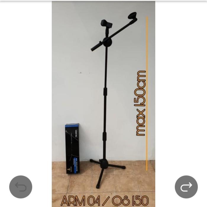 harga Tiang stand mic pendek dan bisa panjang arm-004 arm004 arm 004 terbaik Tokopedia.com