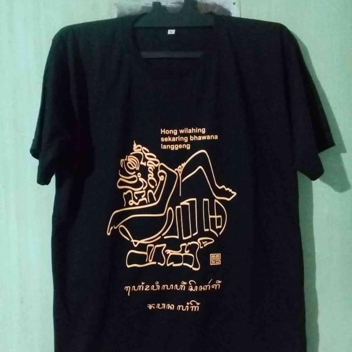 Jual Kaos Kaligrafi Aksara Jawa Bentuk Wayang Semar Kota Yogyakarta Sanggar Iqra Hanacaraka Tokopedia
