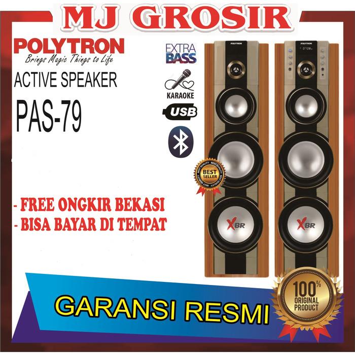 harga Promo polytron speaker audio pas 79 pas79 super bass usb xbr bluetooth Tokopedia.com