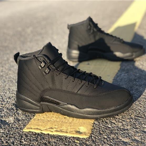 reputable site 3c7c1 3cde8 Jual Sepatu Nike Air Jordan XII 12 - Winterized Black Sepatu Basket Ball -  Jakarta Selatan - COGITO STORE | Tokopedia