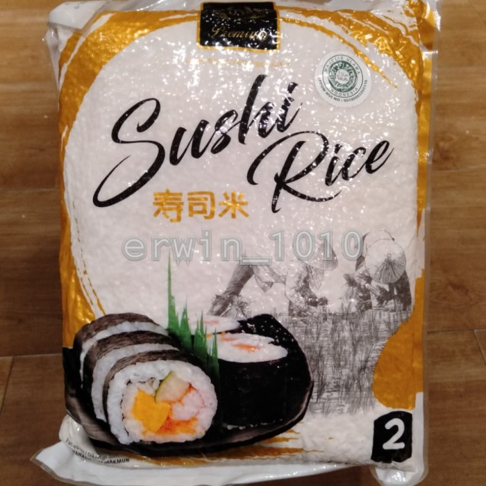 Jual 99 Premium Sushi Rice 2kg Kab Bogor Erwin 1010 Tokopedia