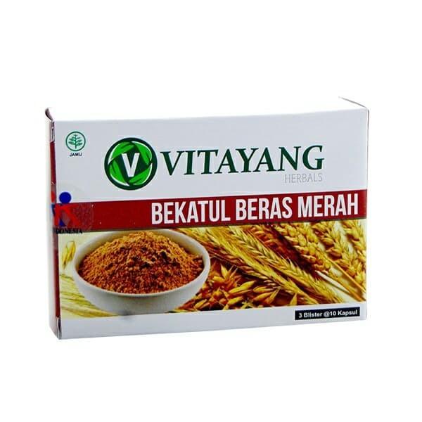 Foto Produk Vitayang Bekatul Beras Merah 30caps kkindonesia dari sans brands healt