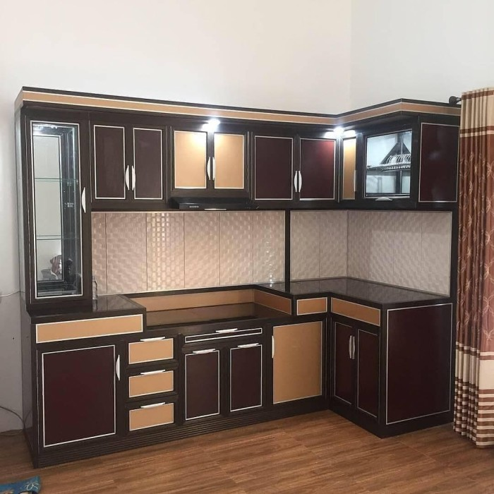 Jual Kitchen Set Modern Minimalis Kota Banjarmasin Kitchenset Bjm Tokopedia