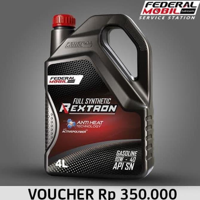 Jual Terlaris E Voucher Retail Federal Mobil Rextron 10w 40 Full Synthetic Jakarta Barat Ewandra Store Tokopedia