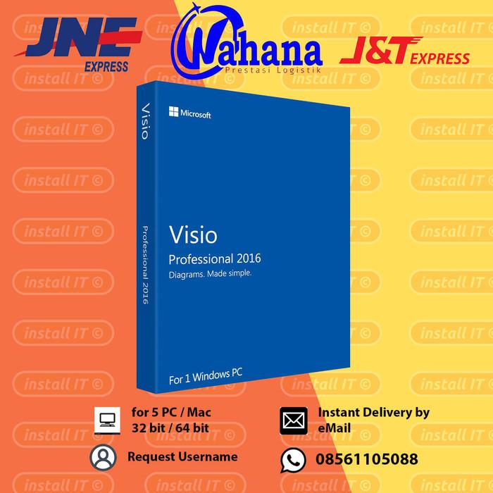 Jual Microsoft Office Visio for Office 365 Original - Kota Depok - Install  IT | Tokopedia