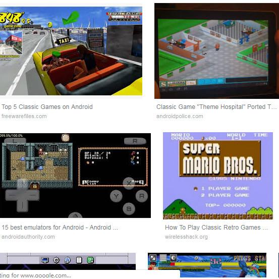 Jual Android Classic Game Emulator Pack All Roms Kota Surabaya