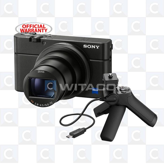harga Sony cyber-shot dsc-rx100m6 vi + vct- sgr1 - black Tokopedia.com