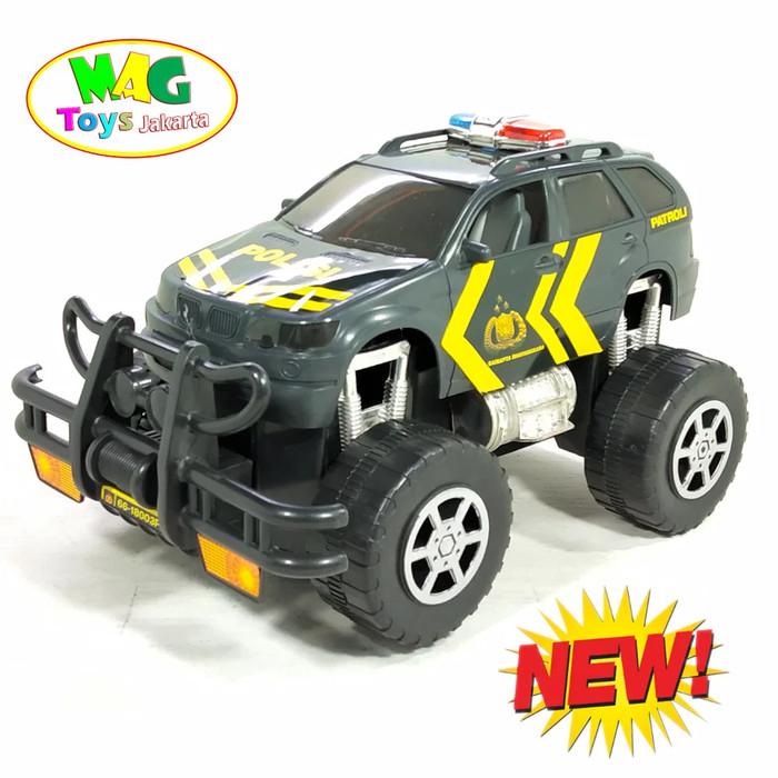 Foto Produk Mainan Mobil Patroli Polisi dari MAG TOYS