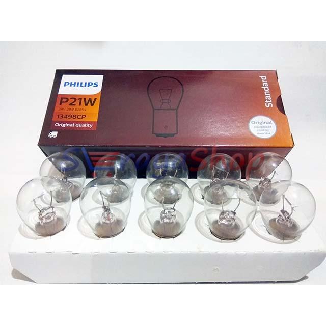 Foto Produk Lampu P21W 24V - Sein / Riting / Mundur Philips dari Seraya Shop