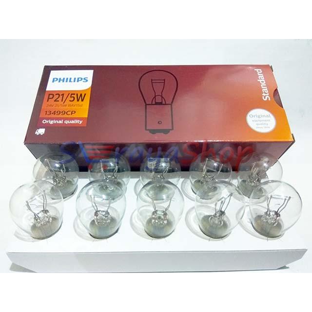 Foto Produk Lampu P21/5W 24V - Kota / Rem Philips dari Seraya Shop