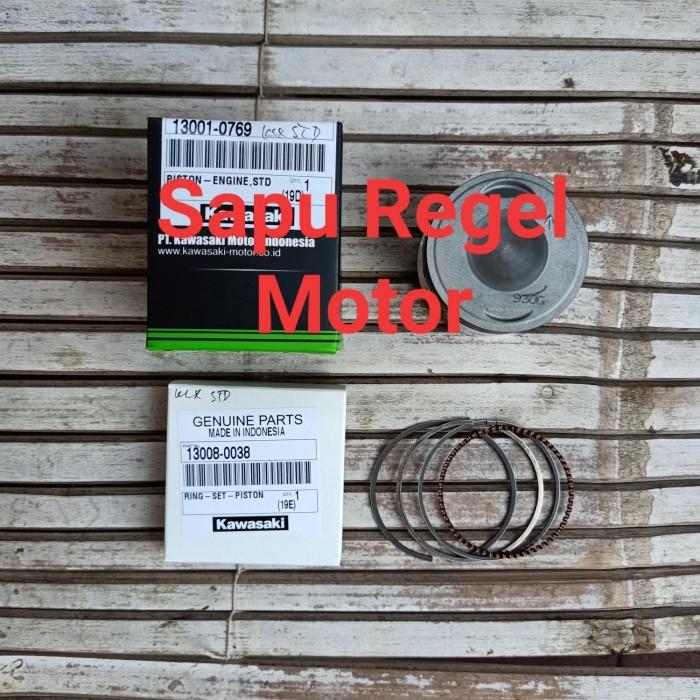 harga Piston ring seher klx 150 os 0 std original kawasaki Tokopedia.com