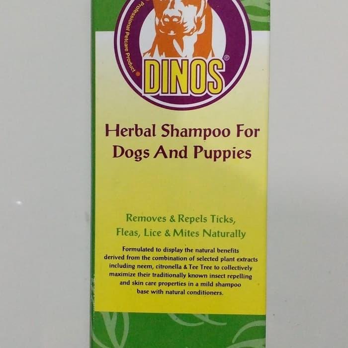 Jual Dinos Herbal Shampoo 500 ML - Kota Depok - JEV PET SHOP ONLINE |  Tokopedia