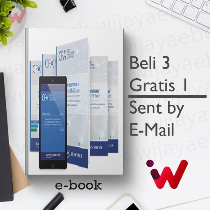 Jual CFA 2019 Kaplan Schweser , Level 3 SchweserNotes [eBook/e-book] - DKI  Jakarta - Wijaya Library 2 | Tokopedia