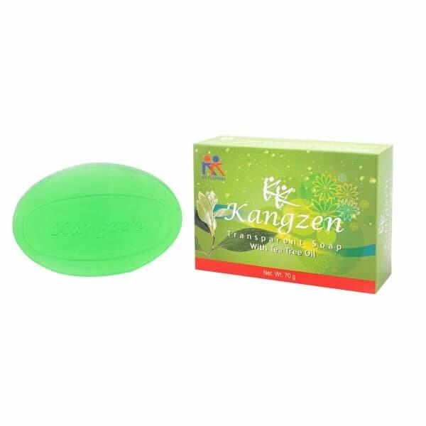 Foto Produk Kangzen Transparant Soap With Tea Tree Oil 70gr keindonesia dari sans brands healt