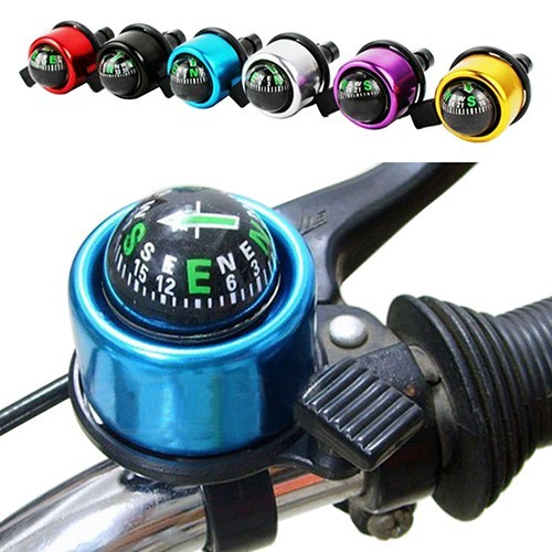AD/_ Loud Clear Sound Bike Handlebar Bell Bicycle Cycling Mini Alarm Warning Ring