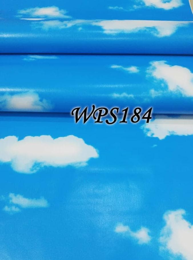 Jual Barang Bagus Wps184 Only Cloud Wallpaper Dinding Walpaper