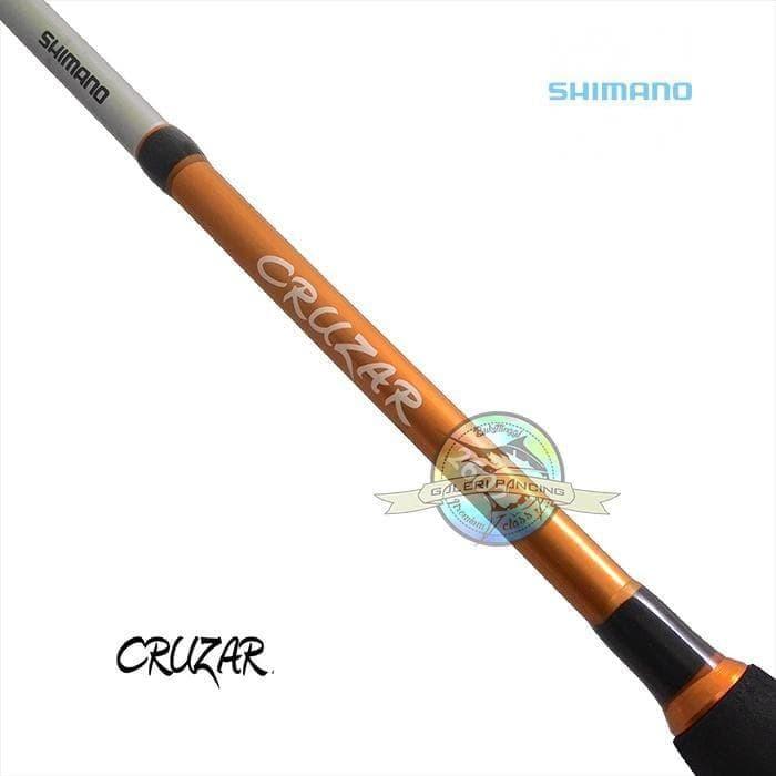 Foto Produk Paling Terpercaya Joran Shimano Cruzar Sg2402 120Cm - Fiber Solid dari dulah ali