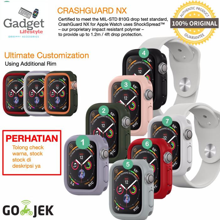 Foto Produk Case Apple Watch 44mm / 42mm / 40mm / 38mm - Rhinoshield Crashguard NX dari GadgetLifestyleShop