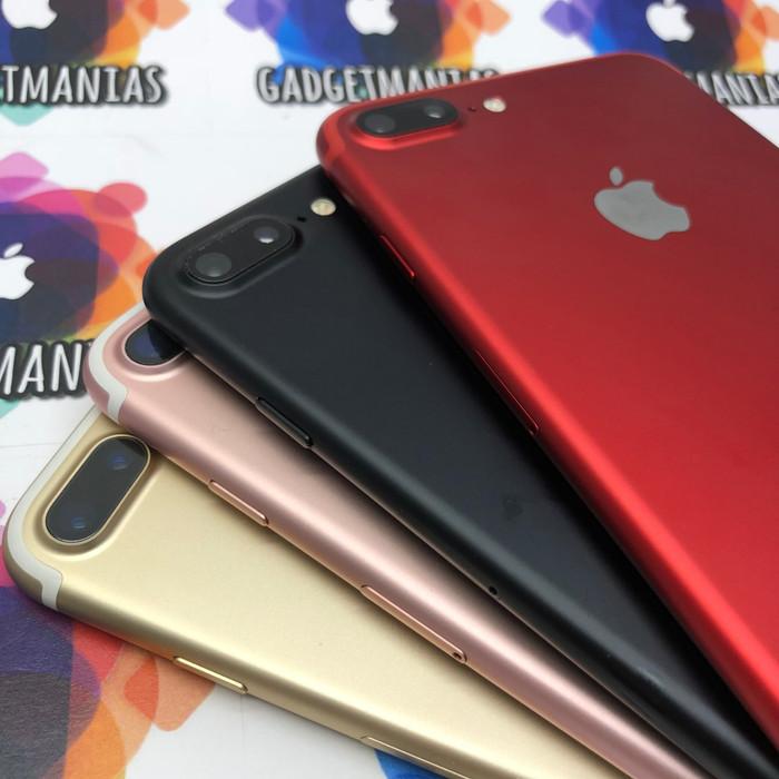 Foto Produk Iphone 7 plus 32gb second fullset mulus - Blackmatte dari gadgetmanias