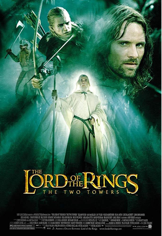 Jual Dvd The Lord Of The Rings The Two Towers 2002 Kota Lubuk Linggau Film Murah Tokopedia