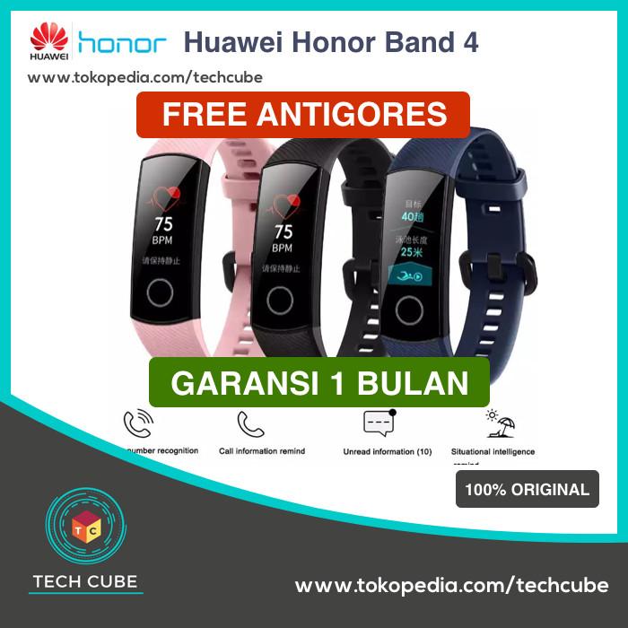 Foto Produk Huawei Honor Band 4 Smartband OLED Alt Mi Band 3 Iwown Huawei Band 3 - Hitam dari Tech Cube