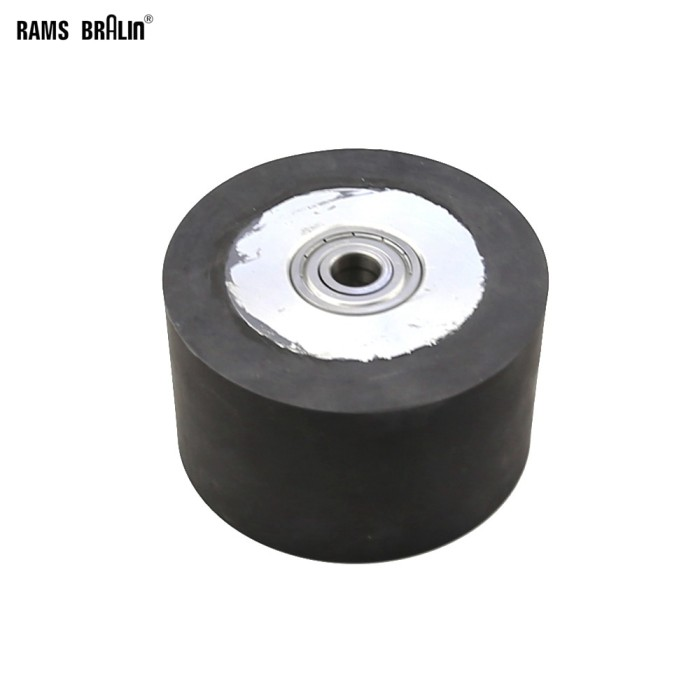 Jual 10060mm Smooth Surface Rubber Roll Belt Grinder
