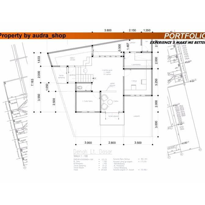 Jual Gambar Desain Rumah Tinggal Jakarta Timur Yulia Lady Aurora Shop Tokopedia