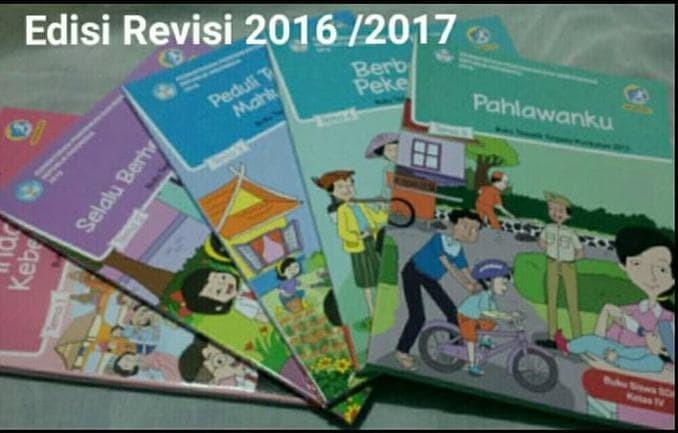 Foto Produk Paket Buku Tematik Kelas 4 SD kurikulum 2013 revisi 2016 dari Yenni Tedjokoesoemo Shop