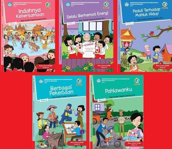 Foto Produk Paket Buku Tematik Kelas 4 SD/MI dari Yenni Tedjokoesoemo Shop