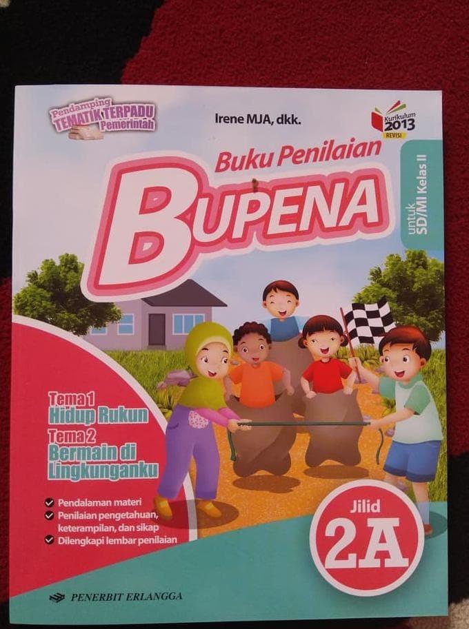 Foto Produk BUPENA KELAS 2A SD Erlangga dari Yenni Tedjokoesoemo Shop