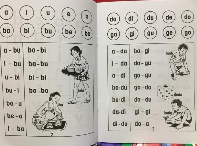 Foto Produk Buku Anak Belajar Membaca untuk TK dari Yenni Tedjokoesoemo Shop