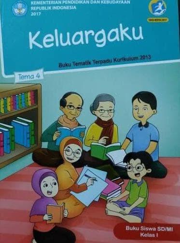 Foto Produk Buku Tematik SD Kelas.1 Tema 4 ( keluargaku ) dari Yenni Tedjokoesoemo Shop