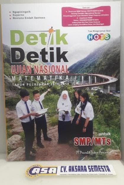 Foto Produk Paket Detik detik UN SMP/MTS 2018/2019 Intan Pariwara dari Yenni Tedjokoesoemo Shop