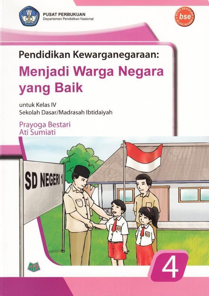 Foto Produk Buku BSE: Pendidikan Kewarganegaraan untuk SD/MI kelas 4 dari Yenni Tedjokoesoemo Shop