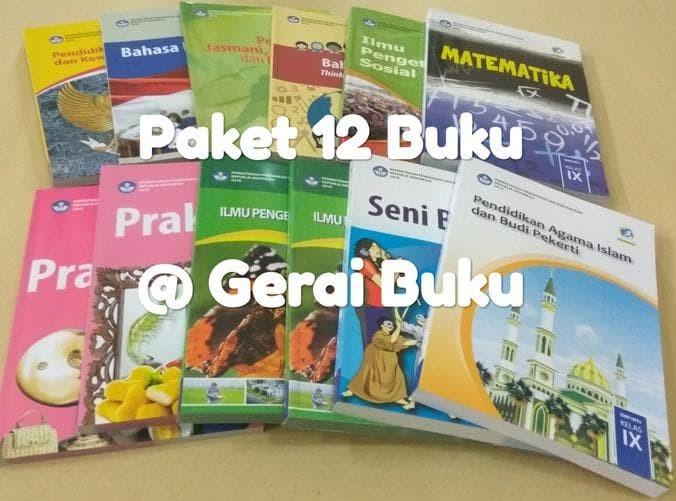 Foto Produk Paket 11 Buku Kelas 9 SMP Revisi 2018 + Agama Islam dari Yenni Tedjokoesoemo Shop