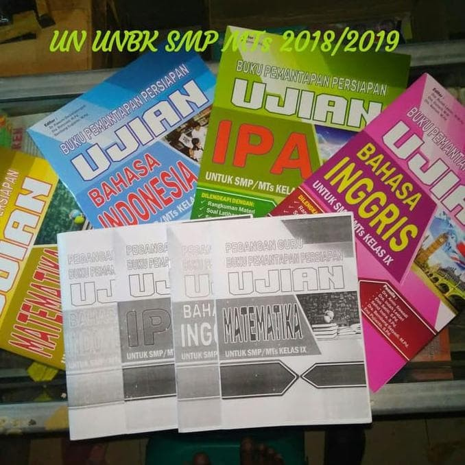 Foto Produk Buku Pemantapan Persiapan Un SMP 2018 dari Akasia free Kunci jawaban dari Yenni Tedjokoesoemo Shop