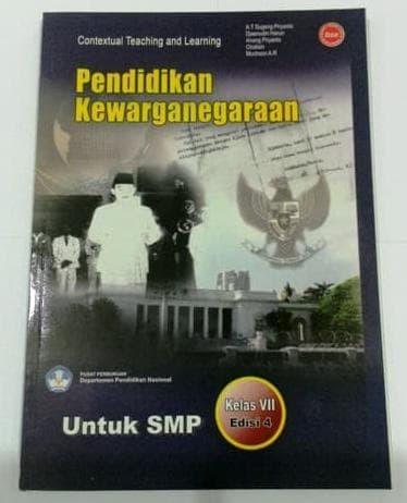 Foto Produk Buku BSE PKN pendidikan kewarganegaraan kelas 7 dari Yenni Tedjokoesoemo Shop
