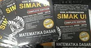 Foto Produk Buku Soal dan Pembahasan SIMAK UI Matematika Dasar Complete Edition dari Yenni Tedjokoesoemo Shop