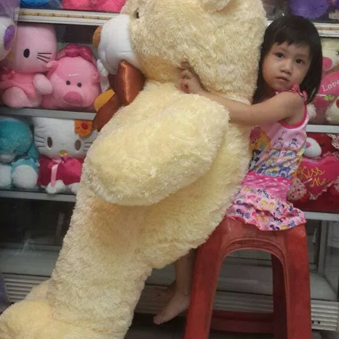 harga Boneka teddy bear super jumbo sni Tokopedia.com