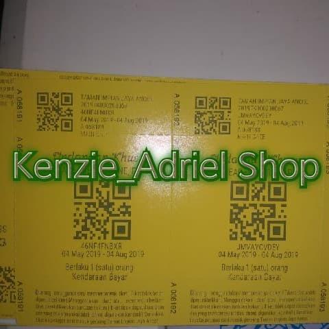 Jual Tiket Masuk A N C O L G E R B A N G A N C O L Kota Tangerang Kenzie Adriel Shop Tokopedia