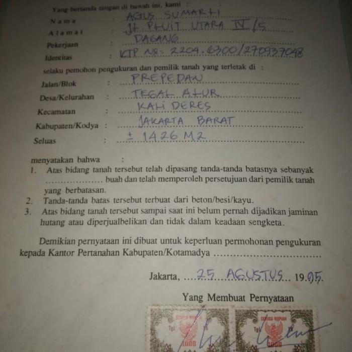 Jual Surat Girik Dki Jakarta Marslaw Tokopedia