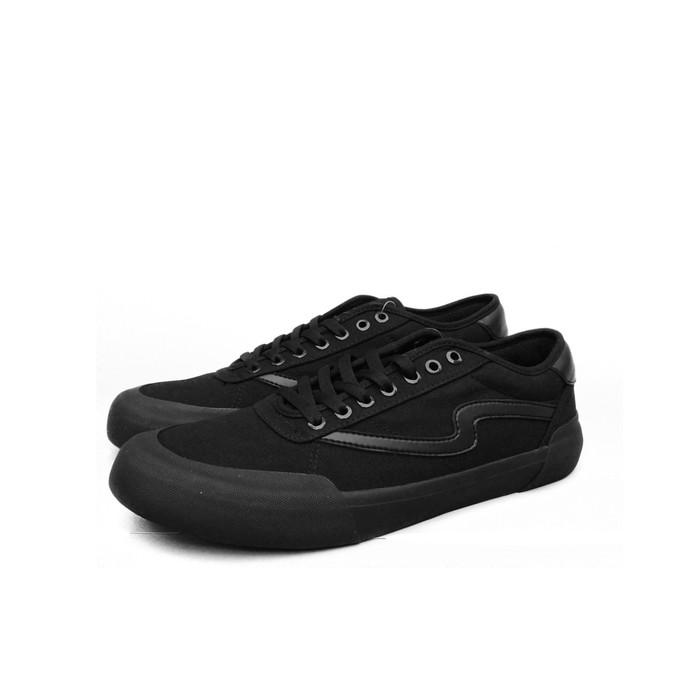 Jual Patrobas Ivan All Black Sepatu Casual
