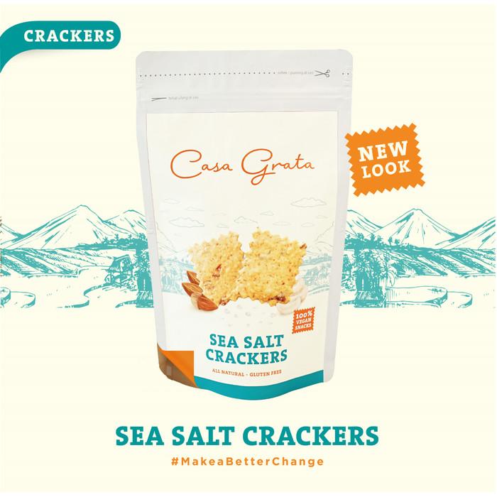 Casa Grata Sea Salt Crackers