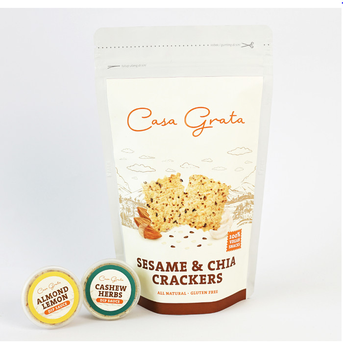 Casa Grata Large Mix And Match Crackers Dip - Seasalt N Al
